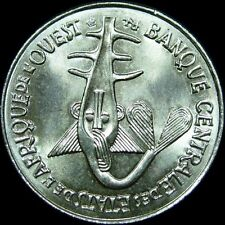 WEST AFRICA,  2004  50 FRANCS COIN, from Banque Centrale, Uncirculated NICE COIN