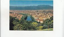 BF29553 torino panorama e fiume po italy   front/back image