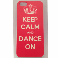 Keep Calm and Dance Printed iPhone 5 5s Case for Apple iPhone 5s
