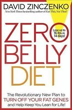 ZERO BELLY DIET New Plan Lose up to 16 lbs in 14 days David Zinczenko NEW book