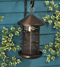 Seed Buffet Copper Feeder Wild Bird Feeder by Tom Chambers