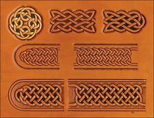 """Celtic 1-1/2"""" and Up  Belt & Buckle Craftaid Tandy Leather 76611-00"""
