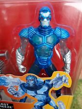 VINTAGE BATMAN & ROBIN FIGURE  -  ICE BLAST MR FREEZE  -  RARE KENNER 1997  !