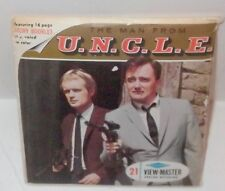 THE MAN FROM U.N.C.L.E. 1966 VIEW-MASTER IMPORTANT ZOMBIE AFFAIR UNCLE + FLIPPER