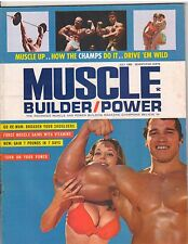 MUSCLE BUILDER bodybuilding magazine/ARNOLD SCHWARZENEGGER/Betty Weider 7-69