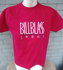 Bill Blass Clothing Jeans Red T-Shirt Size Small Vintage