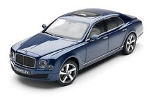 Kyosho 1/18  Bentley Mulsanne Speed Marlin Blue Metallic Special Edition BL1295