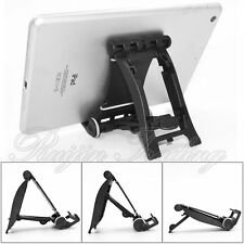 Portable Foldable Adjustable Multi-Stand Car Holder Phone Tablet Universal