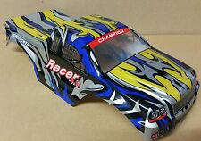 1/10 RC Monster Truck Off Road Body Shell Blue