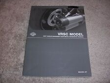 2007 Harley-Davidson  VRSC Models Electrical Diagnostics Manual 99499-07 NEW