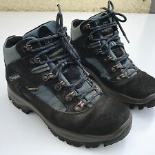 L@@K BERGHAUS GORE-TEX LADIES WOMENS GREY LEATHER BOOTS UK 4 EU 37