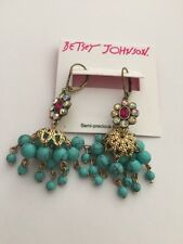 $35 Betsey Johnson Boho Chandelier Drop Earrings BJ 404