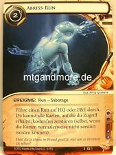Android Netrunner lunaires - 2x démolition-run #003 - base set allemand