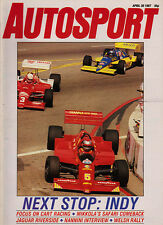 Autosport 30 Apr 1987 - Riverside IMSA GT, Estoril ETCC Ford Cosworth, New Zeala