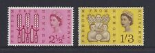 Great Britain 1963 Freedom from Hunger Phosphor Stamp Set