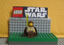 "STAR WARS  LEGO LOT MINIFIGURE--MINI FIG ""  QUI GON JINN --- 7161-7101-7121  """