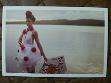POSTCARD...I MAKE MY DAY....NAPCAN....SEXY LADY IN LAKE WITH PLAYING CARDS ??