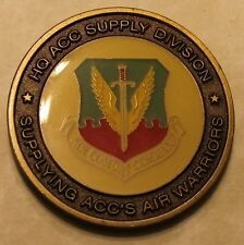 HQ Air Combat Command Supply Division Air Force Challenge Coin