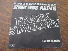 45 tours frank stallone extrait de la bande originale du film staying alive