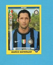 PANINI CALCIATORI 2009-2010-Figurina n.204- MATERAZZI -INTER -NEW