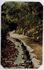 Guernsey, Channel Islands Vintage Postcard - Water Lane