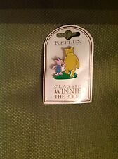 Reflex Disney Pin 28916 Classic Pooh and piglet mb 204 mint on card very rare