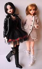 NANA Yazawa Ai Nana and Hachi Hachiko custom Jenny Takara doll set Azone Obitsu