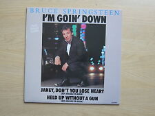 "BRUCE SPRINGSTEEN I'm Goin' Down Holland 12"" single in pic sleeve CBS 12.6561"