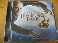 THOMAS NEWMAN LEMONY SNICKETS SERIES OF UNFORTUNATE EVENTS O.S.T.CD  SIGILLATO
