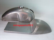 BENELLI MOJAVE CAFE RACER RAW FUEL TANK WITH SEAT HOOD+ MONZACAP(DIE HANDMAKING)