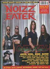 Noizz Eater Issue 5 Jan-Mar 2010 Motorhead Anvil Keel Rage Raven   MBX17