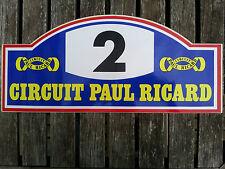 Autocollant sticker Circuit Paul Ricard N°2 F1 Sport automobile racing car