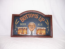 Bottoms Up Beer Sign