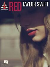 Taylor Swift RED Guitar Recorded Versions Play Begin Again 22 TAB Music Book