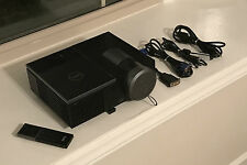 Nice Dell 4220 DLP HDMI Projector w/ Remote & Cables - 260 HOURS!!!