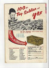 VINTAGE LUCKY TOYS 100 PC TOY SOLDIER SET ORIGINAL PRINT AD 1967!! FREE SHIPPING