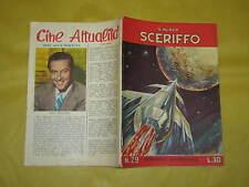 IL NUOVO SCERIFFO N°29  NOVEMBRE 1957 SUL RETRO RAY MILLAND