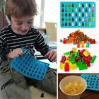 50 Cavity Silicone Gummy Bear Chocolate Mold Candy Maker Ice Tray Jelly Moulds 1