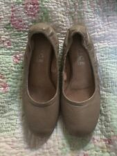 Fab All Leather OFFICE Ladies ballerina Flat Shoes-size 39. VGC