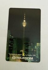 Malaysia TM KL Tower Phone Card  电话卡 Night View