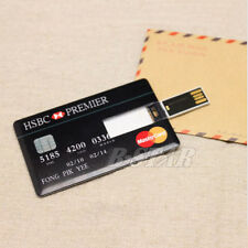 Portable Credit Card Model 8GB USB 2.0 Flash Drive Memory Stick Pendrive Disk