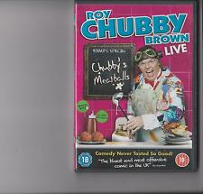 ROY CHUBBY BROWN LIVE PUSSY AND MEATBALLS DVD RATED 18 STAND UP COMEDY