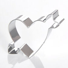 Heart Shape Biscuit Cookie Cutter Fondant Cake Baking Mould  Decorating DIY Tool