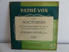 CHOPIN Nocturnes N°8 N°12 GUIOMAR NOVAES VIP 45310