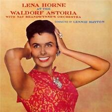 LENA HORNE AT THE WALDORF ASTORIA WITH NAT BRANDWYNE'S ORCHESTRA (NEW SEALED CD)