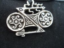 Pictish Celtic Double Disc and Z Rod Pewter Pendant