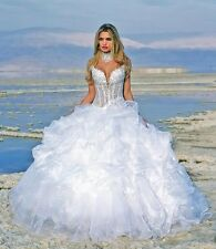 A-11 Abiti da Sposa vestito nozze sera wedding evening dress