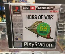 Hogs Of War For PAL Sony PlayStation 1 Complete With Manual PS1 PS2 PS3