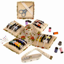 Sewing Kit Needlework Set 70PC Fold Up Box Storage