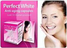 1 Powerful Perfect White Skin Whitener Whitening Tablet Glutathione 30 Pills